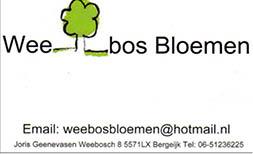 Weebos Bloemen