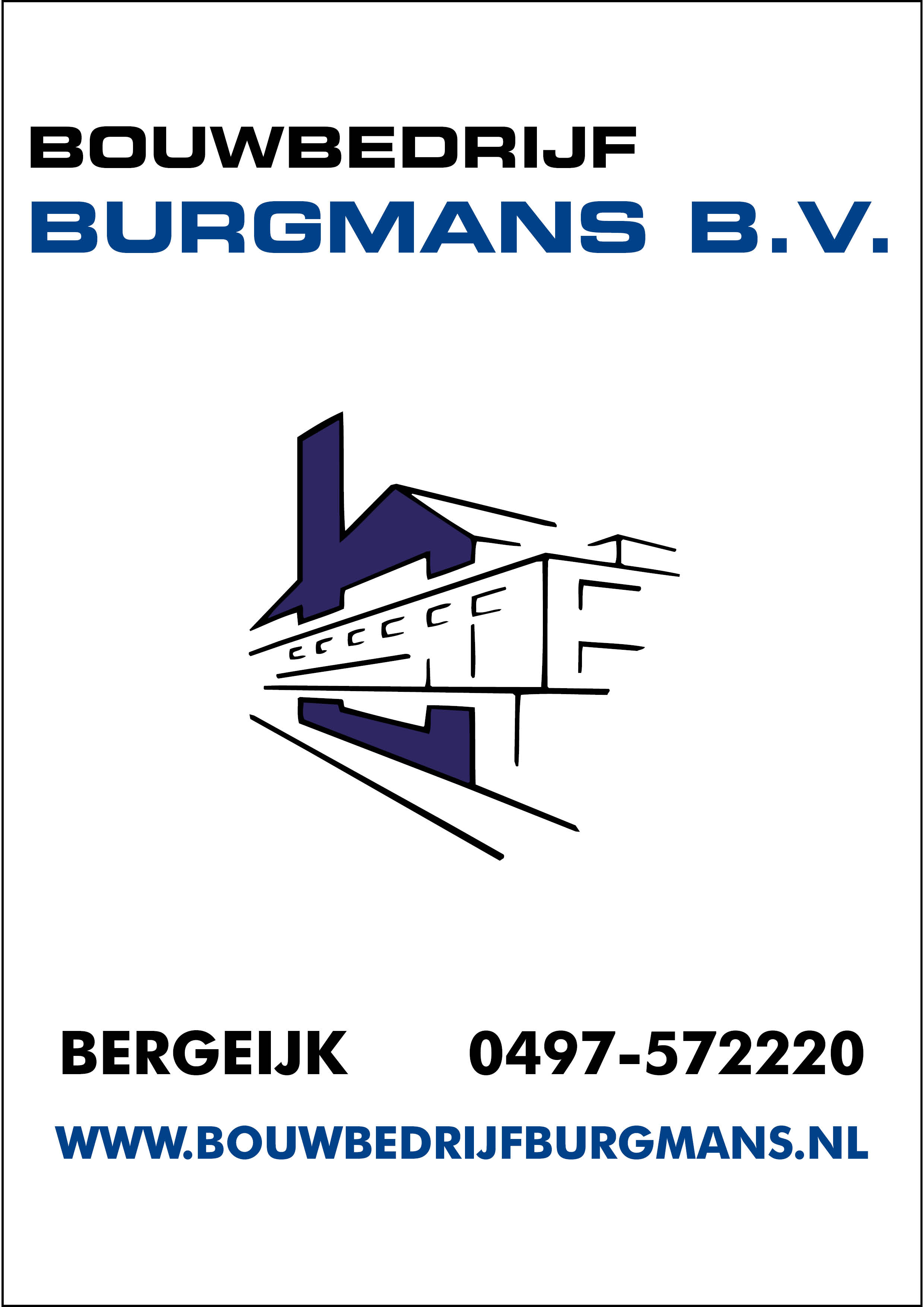 Bouwbedrijf Burgmans B.V.