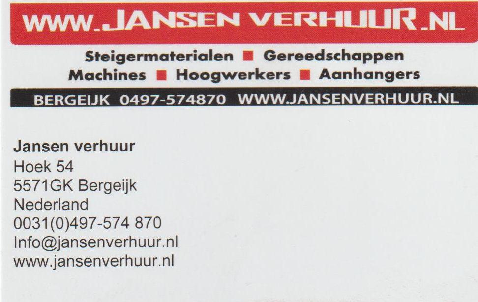 Jansen Verhuur